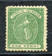 Vierges - N° 1 * - Neuf Avec Charnière - British Virgin Islands
