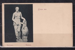 61O * GRUSS AUS DEM VATIKAN * MUSEUM VENUS * 1905 **!! - Vatikanstadt
