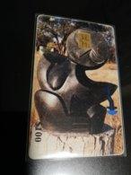 ZIMBABWE  ART   CHIPCARD   FINE USED   **1044** - Simbabwe