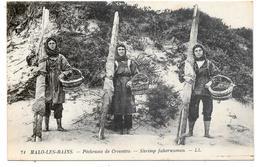 59 - MALO LES BAINS - Pêcheuses De Crevettes - Ed. LL N° 71 - Malo Les Bains