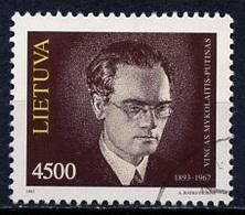 Lituanie - Lithuania - Litauen 1993 Y&T Y&T N°455 - Michel N°525 (o) - 4500k M Putinas - Lituanie