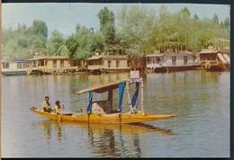 °°° 21026 - INDIA - SHIKARA IN DAL LAKE , KASHMIR °°° - India
