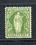 Vierges - N° 20b * - Neuf Avec Charnière - Erreur : Penny - British Virgin Islands
