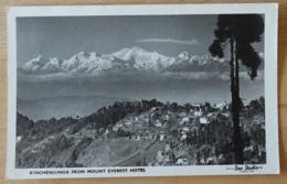 India Sikkim Das Studio Darjeeling Kinchenjunga From Mount Everest Hotel Kangchenjunga - India