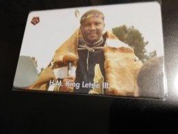 LESOTHO CHIPCARD  M30  KING LETSIE 3    USED CARD **1050** - Lesotho
