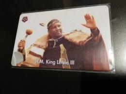 LESOTHO CHIPCARD  M50  KING LETSIE 3    USED CARD **1051** - Lesotho