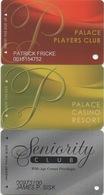 Lot De 3 Cartes : Palace Casino Resort : Biloxi MS - Cartes De Casino