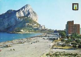 Espagne Calpe Alicante Penon De Ifach Y Playa De Levante (2 Scans) - Alicante