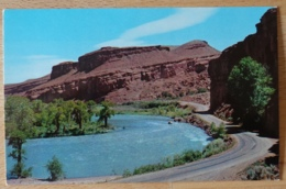 Red Canyon Between Dubois And Lander USA - Etats-Unis