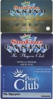 Lot De 3 Cartes : SunCruz Casino S FL - Cartes De Casino