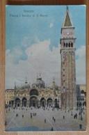Venezia Venedig Piazza E Basilica Di S. Marco 1914 - Vicenza