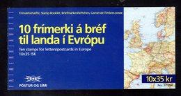 ISLANDE 1994 - CARNET Yvert C753 - Facit H21 - NEUF** MNH - Europa, L'europe Et Les Découvertes - Booklets
