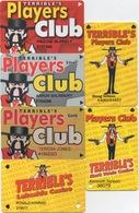 Lot De 6 Cartes : Terrible's Casino S - Cartes De Casino