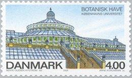 2001 4.00k Botanical Garden Copenhagen MNH - Danimarca