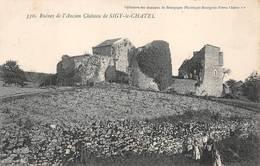 Sigy Le Châtel Canton Saint Gengoux Château 330 Collection Des Châteaux De Bourgogne - Other Municipalities