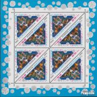 Russland 348Klb Kleinbogen (kompl.Ausg.) Postfrisch 1993 Neujahr - Unused Stamps