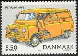 2002 5.50k 1962 Bedford Van Mail Truck MNH - Danimarca