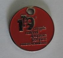 Jeton De Caddies - 119ème CONGRES NATIONAL DES SAPEURS POMPIERS - AMIENS SOMME 2012 - Jetons De Caddies