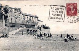 FR-80: LE CROTOY: Le Grand Hôtel - Animation - Le Crotoy