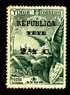 ! ! Tete - 1913 Vasco Gama On Timor 2 1/2 C - Af. 20 - MH - Tete