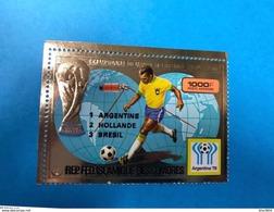 COMORES 1978 Aerien Or PA 154 A Avec Finalistes Neuf Or Avec Trace Rousseur Gomme COMOROS KOMOREN - Comoros