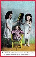 """En L'état CPA Fillette & Poupée """"Faire De Justine..."""" ** Little Girl Doll Puppe Bambola Käthe Kruse Jouet Toys Enfants - Games & Toys"""