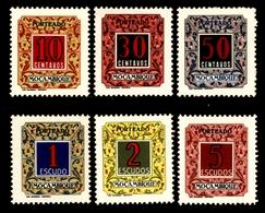 ! ! Mozambique - 1952 Postage Due (Complete Set) - Af. P 51 To 56 - MNH - Mozambique