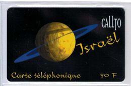Top Collection - CALLTO Israel - 50 F - Rare Carte Prépayée à Code De France - Voir Scans - France