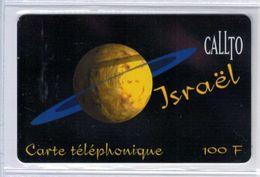 Top Collection - CALLTO Israel - 100 F - Rare Carte Prépayée à Code De France - Voir Scans - France