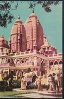 °°° 21052 - INDIA - NEW DEHLI - BIRLA TEMPLE - 1970 With Stamps °°° - India
