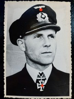 GERMAN Photo WW2 WWII ARCHIVE : AS U-BOAT _ Reinhard REIHE _ KRIEGSMARINE - Guerre, Militaire