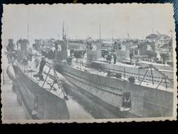 GERMAN Photo WW2 WWII ARCHIVE : U-BOATS N° 28 29 30 34 36 _ KRIEGSMARINE - Guerre, Militaire