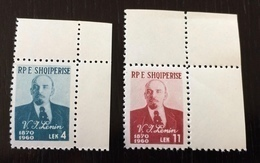 Albania 1960; History, Famous People, Lenin; MNH, Neuf**, Postfrisch; CV 16 Euro!! - Albania