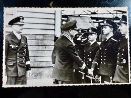 GERMAN Photo WW2 WWII ARCHIVE : Officiers  _ KRIEGSMARINE - Guerre, Militaire