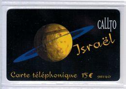 Top Collection - CALLTO Israel - 15 € / 98F40 - Rare Carte Prépayée à Code De France - Voir Scans - France