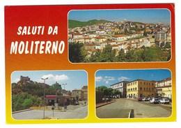 5079 -  SALUTI DA MOLITERNO POTENZA 3 VEDUTE 1990 CIRCA - Other Cities