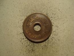 MONNAIE JAPON 5 YEN 1969 / 44 - Japan