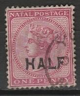 NATAL (Colonie Britannique) 1895 YT N° 56 Obl. - Natal (1857-1909)