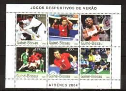 Guinea-Bissau, 2003. [gb3541] Olympic Games-2004 - Ete 2004: Athènes