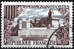 France 1959 - Mi 1269 - YT 1222 ( Castle Of Perpignan ) - France