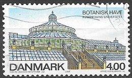 2001 4.00k Botanical Garden Copenhagen, Used - Danimarca