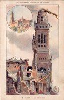 ILLUSTRATEUR MAITREJEAN . Les Monuments Victimes De La Guerre : Albert . La Basilique - Autres Illustrateurs