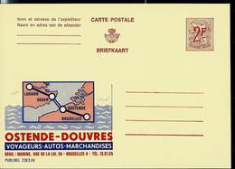 Publibel Neuve N° 2263 ( OSTENDE - DOUVRES ) - Werbepostkarten