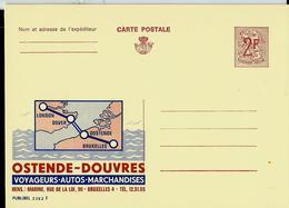 Publibel Neuve N° 2262 ( OSTENDE - DOUVRES ) - Werbepostkarten