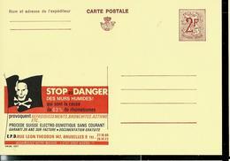 Publibel Neuve N° 2267   (STOP Au DANGER Des Murs Humides; Drapeau Pirates - Tête De Mort) - Werbepostkarten