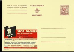 Publibel Neuve N° 2268   (STOP Au DANGER Des Murs Humides; Drapeau Pirates - Tête De Mort) - Werbepostkarten