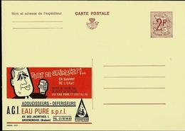 Publibel Neuve N° 2273 ( PLUS DE GRIMACE Grâce à Eau Pure Sprl - Adoucisseurs) - Werbepostkarten