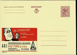 Publibel Neuve N° 2274 ( PLUS DE GRIMACE Grâce à Eau Pure Sprl - Adoucisseurs) - Werbepostkarten