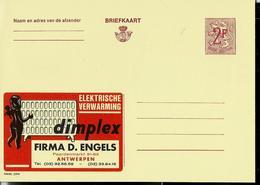 Publibel Neuve N° 2275 ( DIMPLEX  Radiateur - Firma D. ENGELS - Antwerpen ) - Werbepostkarten