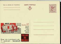 Publibel Neuve N° 2284 ( Palais Du Meuble - Namur) - Werbepostkarten